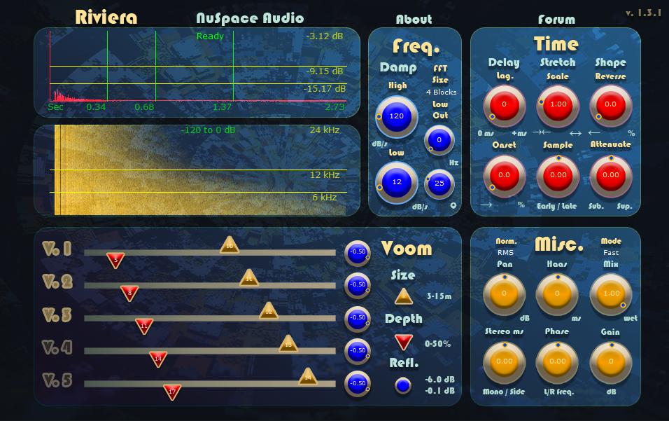 Riviera Plugin Updated to v  1 3 0a – NuSpace Audio